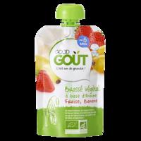 Good Goût Alimentation Infantile Brassé Avoine Fraise Banane Gourde/90g à YZEURE